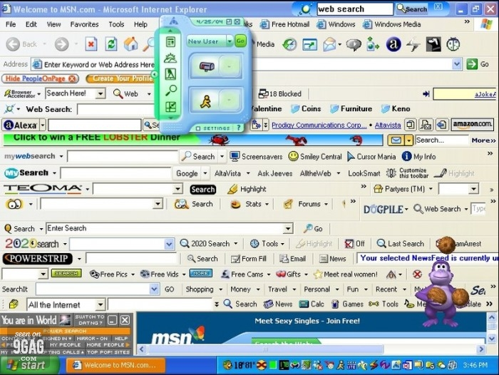 IE mess