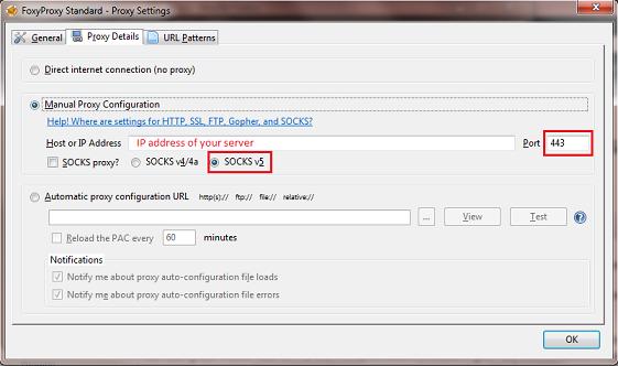 Add proxy server