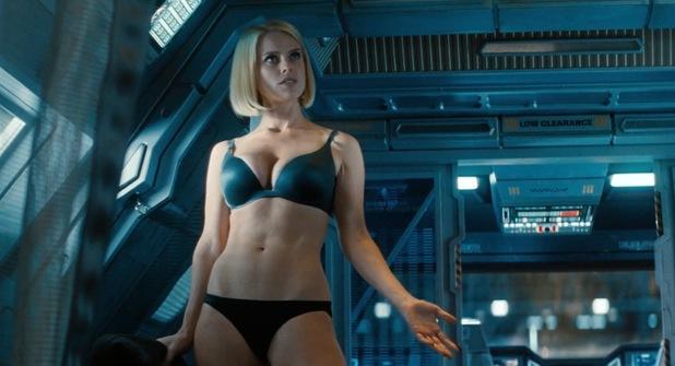 Star Trek boobs