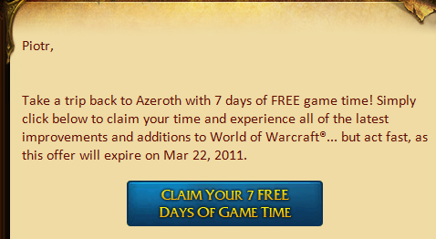 Hard time for Azeroth